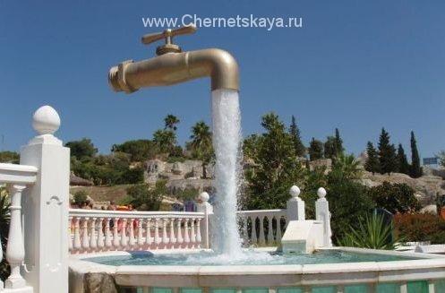 Крещенская вода из-под крана