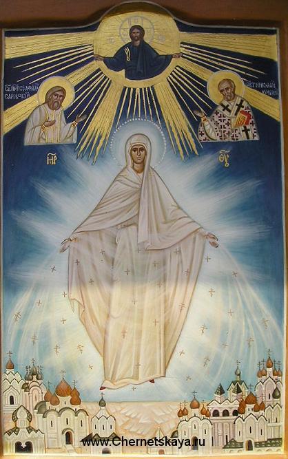 Икона Божьей матери Воскрещающая Русь