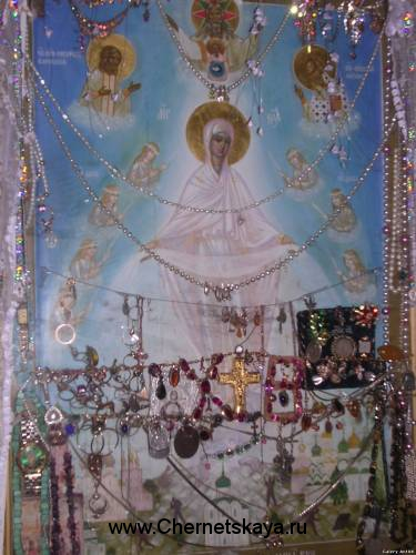 Образ Божией Матери Воскрешающая Русь