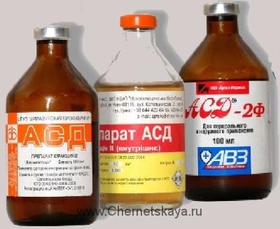 АСД Дорогова — Патент препарата