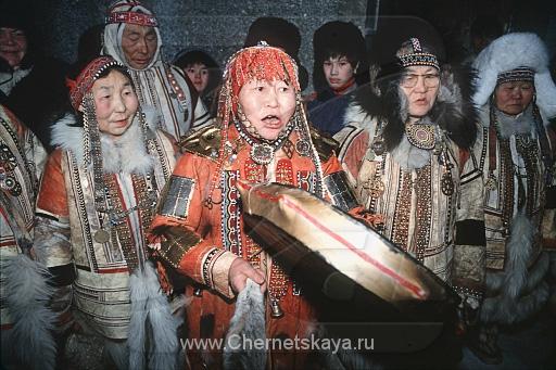 Обряды посвещения в шаманы